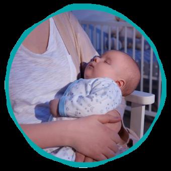 Salus para cuidar a tu bebé de noche - Empleada en casa Agencia de empleadas del Hogar